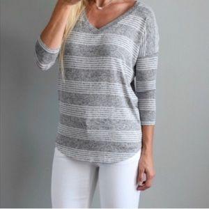Market & Spruce stitch fix Careen v neck sweater